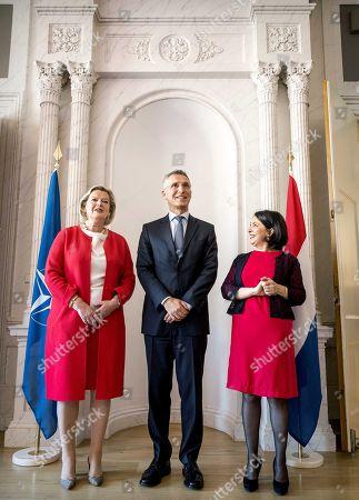 Jens Stoltenberg, Ankie Broekers-Knol and Khadija Arib