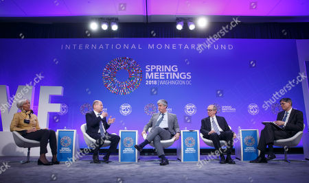 Editorial photo of 2018 International Monetary Fund World Bank Group Spring Meetings, Washington, USA - 19 Apr 2018