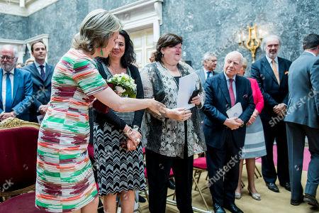 Queen Mathilde, Christine Defraigne, Maggie De Block, Mark Eyskens