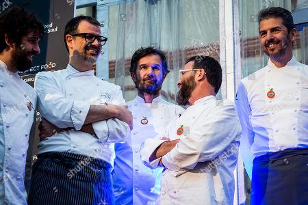 Editorial image of Grundig Food for Soul charity dinner, Design Week, Milan, Italy - 18 Apr 2018