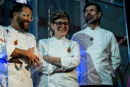 Editorial photo of Grundig Food for Soul charity dinner, Design Week, Milan, Italy - 18 Apr 2018