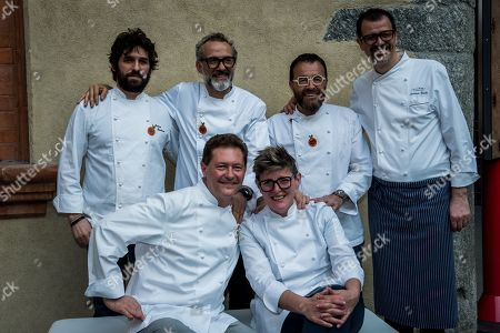 Editorial picture of Grundig Food for Soul charity dinner, Design Week, Milan, Italy - 18 Apr 2018
