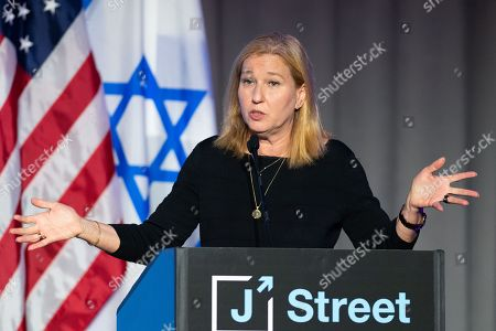 Tzipi Livni, Former Minister of Justice of Israel and Member of Knesset, speaking at the J Street National Conference.