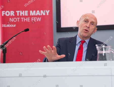 Shadow Housing Minister, John Healey, presents the Labour Party's Green paper 'Housing for The Many' Leader of the Labour Party Jeremy Corbyn launches the Labour Party's Social Housing review and Green Paper in in Westminster