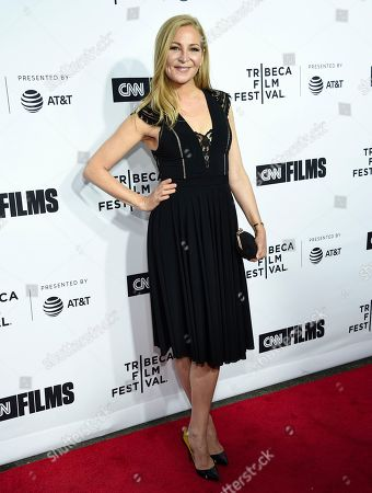 "Actress Jennifer Westfeldt attends the Tribeca Film Festival opening night world premiere of ""Love, Gilda"" at the Beacon Theatre, in New York"