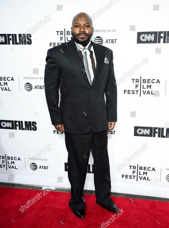 "Stock Image of Franklin Eugene attends the Tribeca Film Festival opening night world premiere of ""Love, Gilda"" at the Beacon Theatre, in New York"