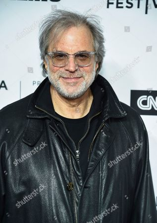 """Stock Image of Clifford Ross attends the Tribeca Film Festival opening night world premiere of """"Love, Gilda"""" at the Beacon Theatre, in New York"""
