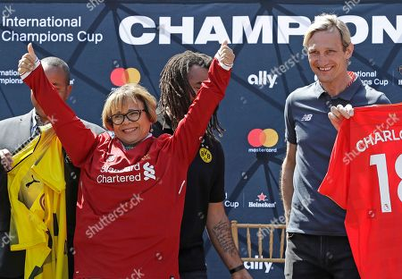 Editorial image of International Champions Cup Soccer, Charlotte, USA - 19 Apr 2018