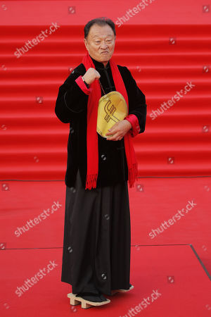 Stock Picture of US actor Cary-Hiroyuki Tagawa poses on the red carpet during the open ceremony of the 40th Moscow International Film Festival at the Rossiya Theatre in Moscow, Russia, 19 April 2018. The festival runs from 19 to 26 April.