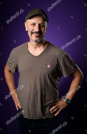 Iranian-American comedian and actor Maz Jobrani poses for a portrait, in Los Angeles