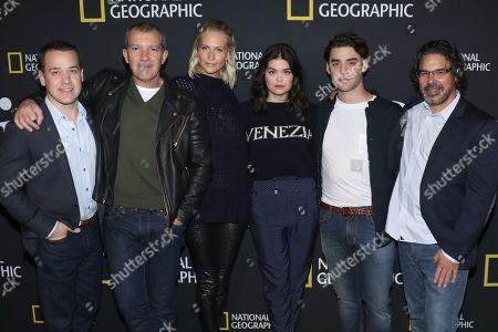 T. R. Knight, Antonio Banderas, Poppy Delevingne, Samantha Colley, Alex Rich and Ken Biller, Executive Producer, Writer/Director