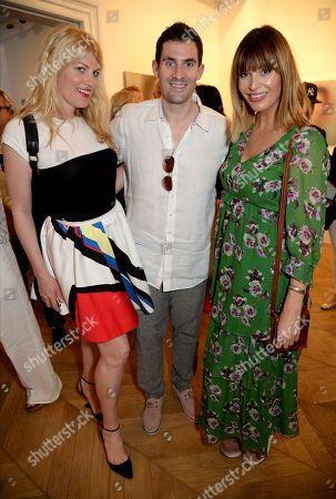Meredith Ostrom, Zafar Rushdie and Catalina Guirado