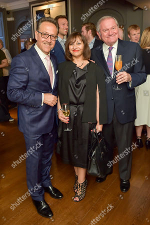 Stock Picture of Salvatore Calabrese, Selma Day and Maurizio Saccani