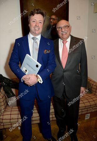 Editorial image of Richard Anderson 'Making The Cut' book launch, London, UK - 19 Apr 2018