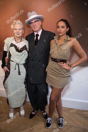 Vivienne Westwood, Joe Corre and Cora Corre