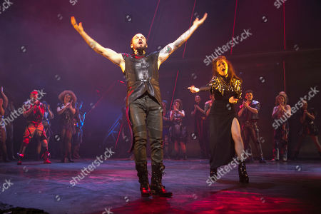 Editorial photo of 'Bat Out of Hell' curtain, Press Night, London, UK - 19 Apr 2018
