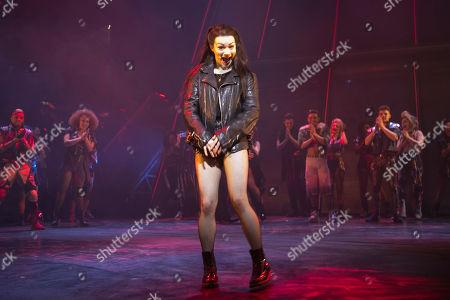 Christina Bennigton (Raven) during the curtain call
