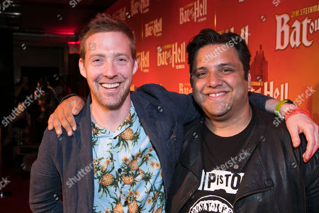 Stock Photo of Ricky Wilson and Nathan Amzi