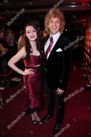 Christina Bennigton (Raven) and Andrew Polec (Strat)