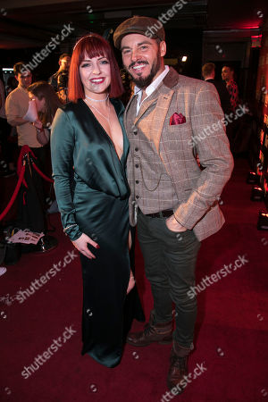 Sharon Sexton (Sloane) and Rob Fowler (Falco)