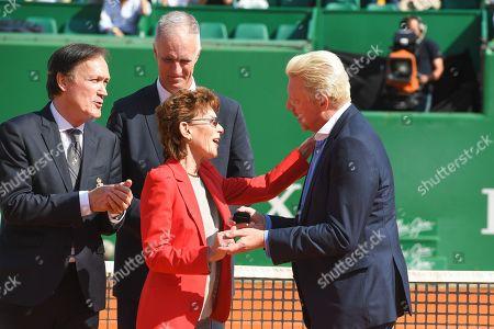 Editorial photo of Monte-Carlo Masters tournament, Roquebrune Cap Martin, France - 19 Apr 2018