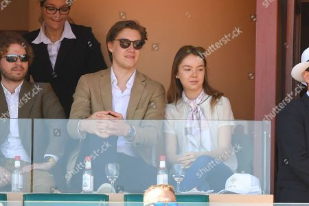 Princess Alexandra de Hanover and her boyfriend Ben-Sylvester Strautmann
