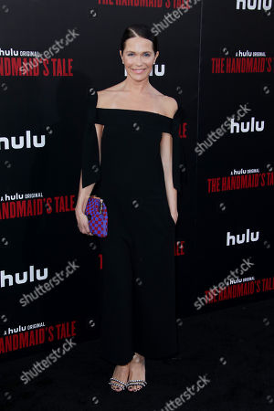Editorial picture of 'The Handmaid's Tale' TV show premiere, Arrivals, Los Angeles, USA - 19 Apr 2018