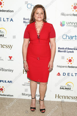 """Melissa Mark-Viverito attends the Hispanic Federation's """"Rising Stronger"""" Spring gala at American Museum of Natural History, in New York"""