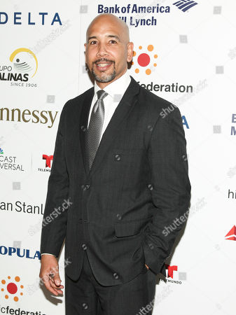 """Ruben Diaz Jr. attends the Hispanic Federation's """"Rising Stronger"""" Spring gala at American Museum of Natural History, in New York"""