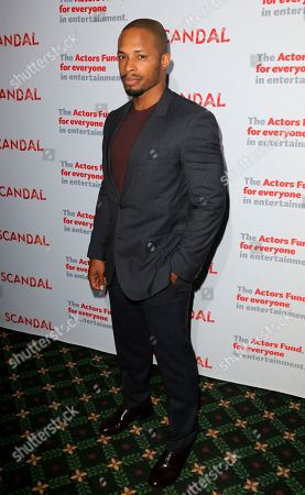 "Cornelius Smith Jnr., cast member of ""Scandal"" arrives a the live stage reading of the series finale at El Capitan Theatre, in Los Angeles"