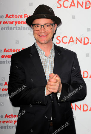 """Joshua Malina, cast member of """"Scandal"""" arrives at the live stage reading of the series finale at El Capitan Theatre, in Los Angeles"""