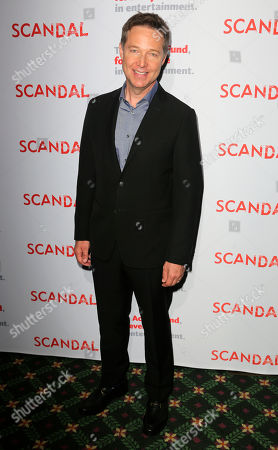 """George Newbern, cast member of """"Scandal"""" arrives at the live stage reading of the series finale at El Capitan Theatre, in Los Angeles"""