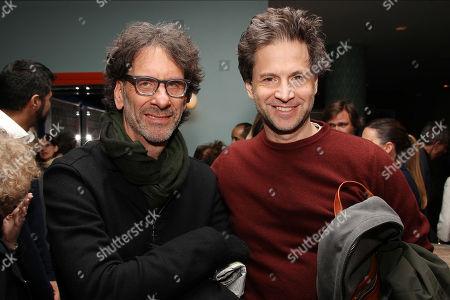 Stock Image of Joel Coen and Bennett Miller