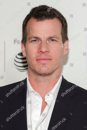 """Series co-creator Jonathan Nolan attends a screening of """"Westworld"""" at the BMCC Tribeca PAC during the 2018 Tribeca Film Festival on in New York"""