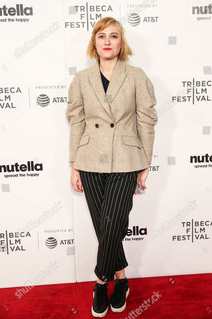 Malina Manovici attends the premiere of 'Lemonade'during 2018 Tribeca Film Festival at Regal Battery Park 11 on April 19, 2018 in New York City. (Photo: William Volcov)