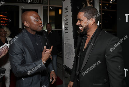 Omar Epps and Laz Alonso