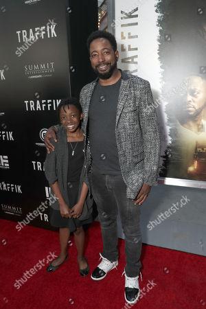 Editorial photo of 'Traffik' film premiere, Los Angeles, USA - 19 Apr 2018