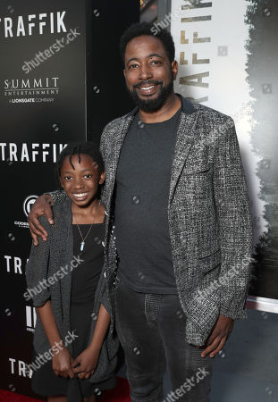 Stock Image of Laila Finkley and Jamaal Finkley