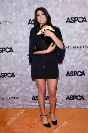 Cecily Strong with Puppy