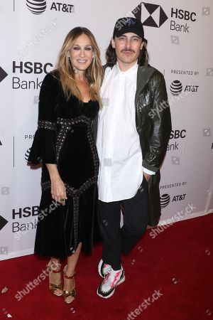 Sarah Jessica Parker and Fabien Constant (Director)
