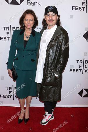 Jacqueline Bisset and Fabien Constant (Director)