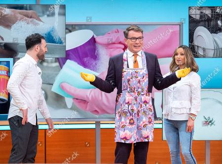 Editorial image of 'Good Morning Britain' TV show, London, UK - 20 Apr 2018