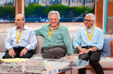 David Suchet, John Suchet and Peter Suchet