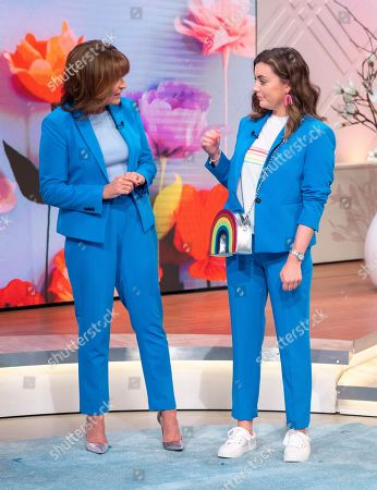 Editorial photo of 'Lorraine' TV show, London, UK - 20 Apr 2018