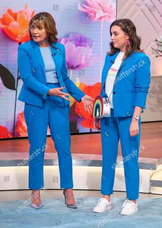 Editorial picture of 'Lorraine' TV show, London, UK - 20 Apr 2018