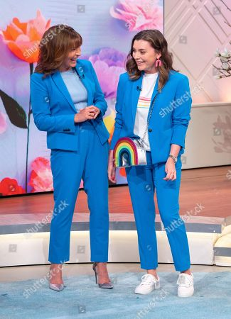 Stock Image of Lorraine Kelly and Rosie Kelly