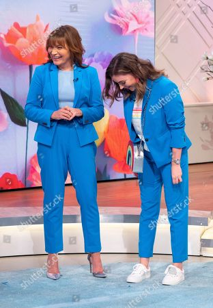 Editorial image of 'Lorraine' TV show, London, UK - 20 Apr 2018