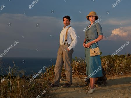 Alexis Georgoulis as Spiro Hakaiopulos and Keeley Hawes as Louisa Durrell.