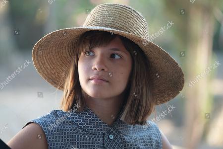 Stock Photo of Olivia Lebedeva-Alexopoulou as Galini.