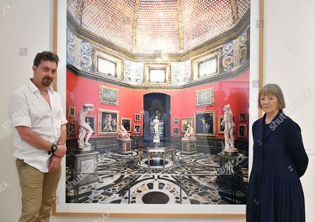 Mike Trow and Candida Höfer, Outstanding Contribution to Photography, Sony World Photography Awards 2018, with 'Uffizi Firenze III 2008'